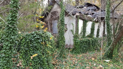 Abandoned Stony Dell Resort on old Route 66 in Arlington, MO..