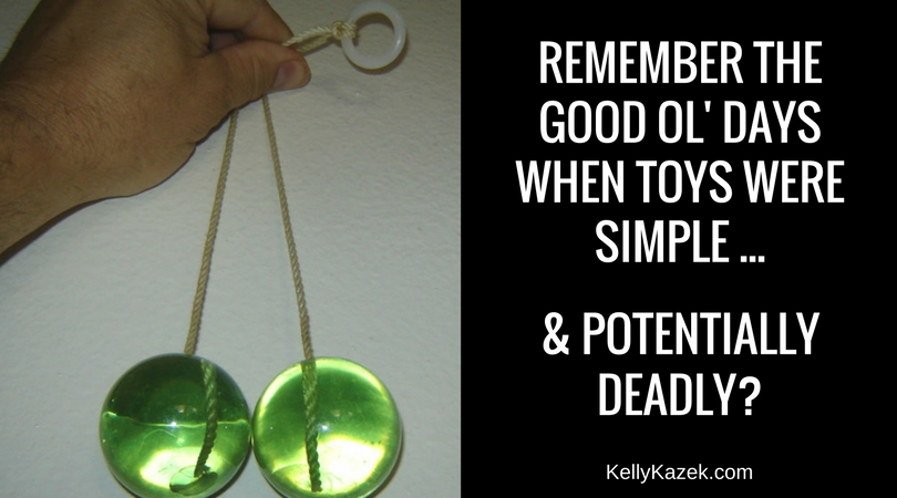 REMEMBER THE GOOD OL' Days when toys were simple ... & potentially deadly-