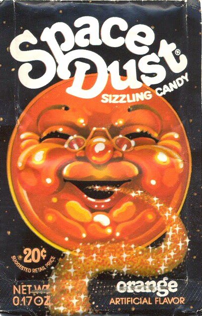space dust 1970s