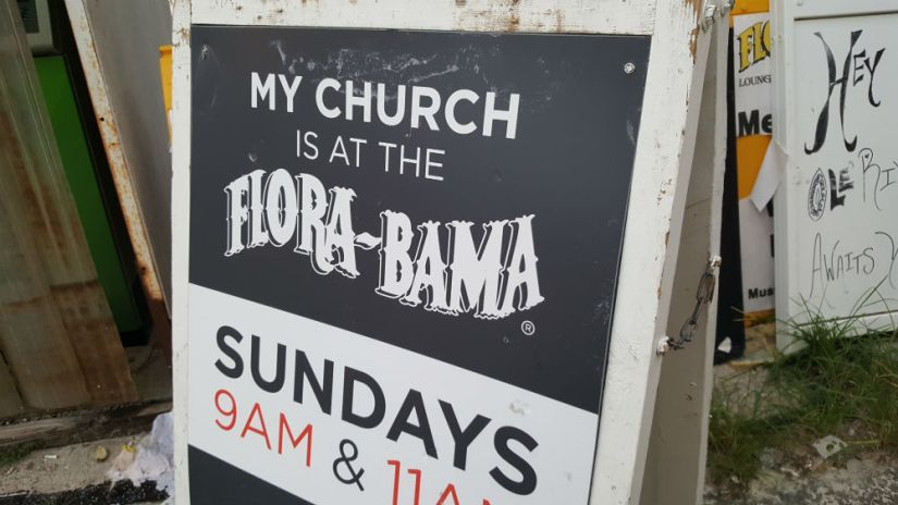 10 church flora bama