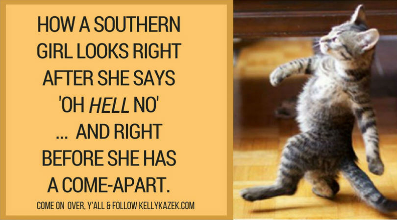 What a southern girl