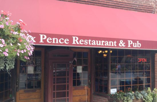 We ate at Six Pence Restaurant, a British pub, in Blowing Rock, N.C. (Photo by Wil Elrick/permission required)