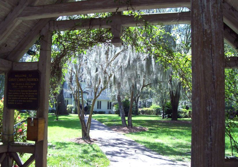 christ church grounds