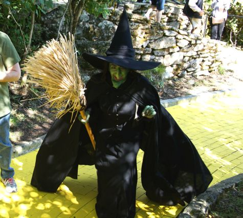 The Wicked Witch on the Yellow Brick Road.