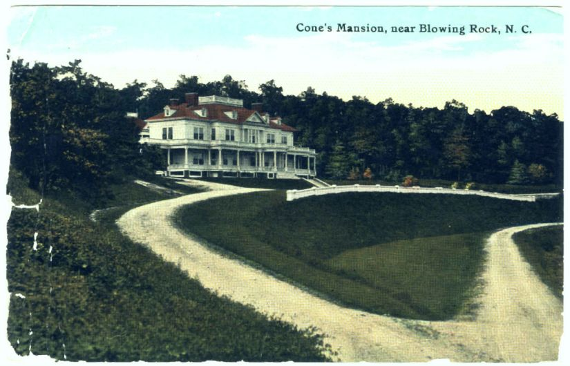 sent from Etta Cone sister of owner Moses Cone to her friend Gertrude Stein 23 July 1911
