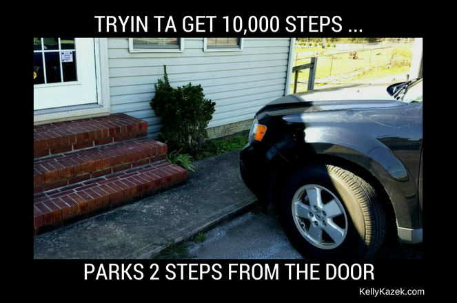 Tryin ta get 10000 steps