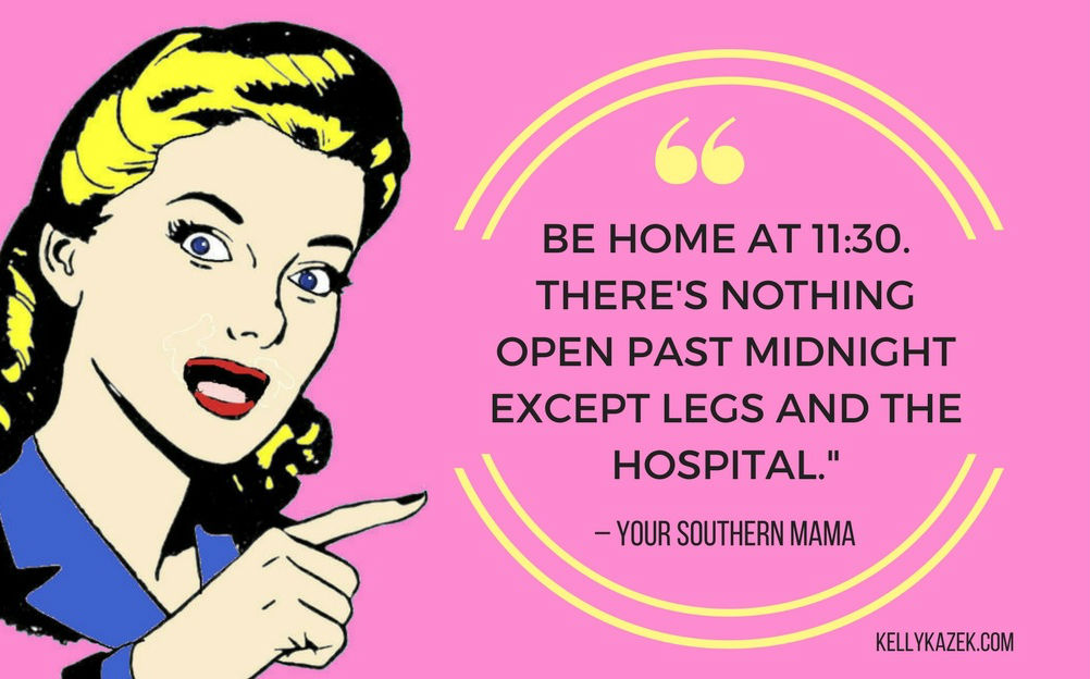 southern mama advice