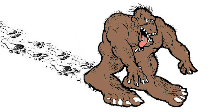 bigfoot clip art library 3