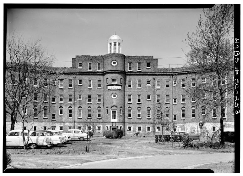 South Carolina State Mental Hospital in 1935 taken for the Historic American Buildings Survey.