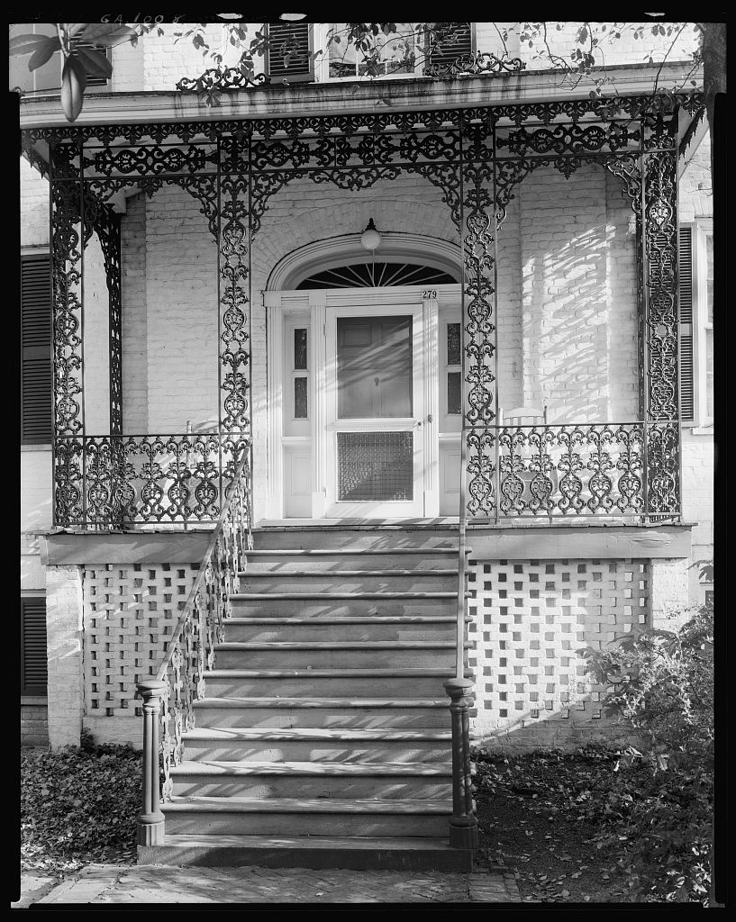 Camak House, Meigs Ave. at Finley St., Athens, Clarke County, Georgia 1938