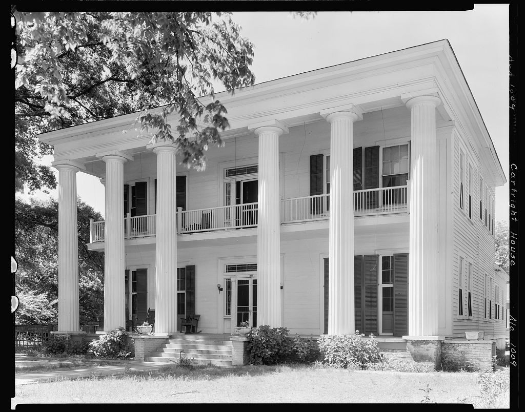 Cartright House, Tuskegee, Macon County, Alabama 1939