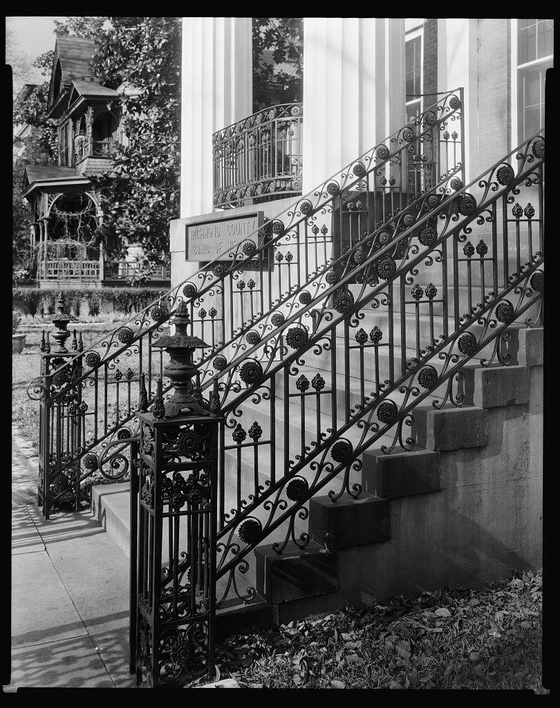 Clanton-Vaison-Coleman House, Augusta, Richmond County, Georgia 1939 or 44