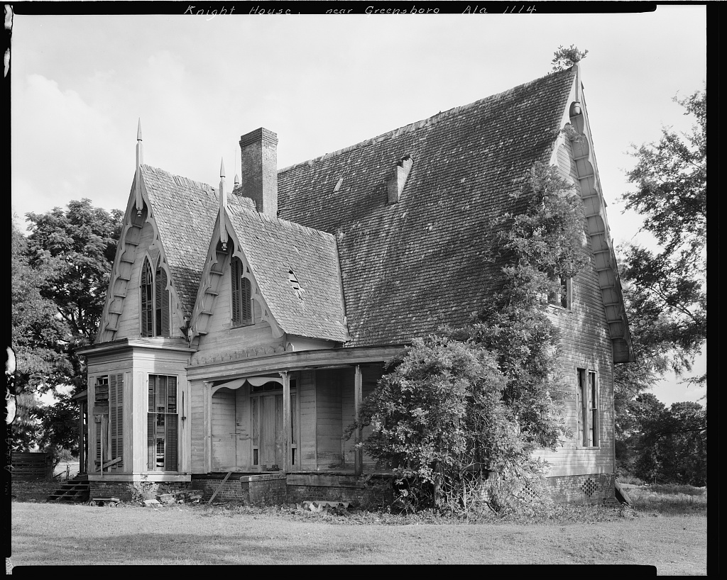 Knight House, Greensboro vic., Hale County, Alabama 1939