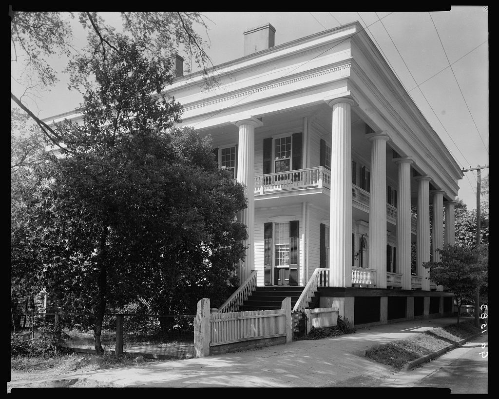 Lindsey House, 212 E. Liberty St., Washington, Wilkes County, Georgia 1939 or 44
