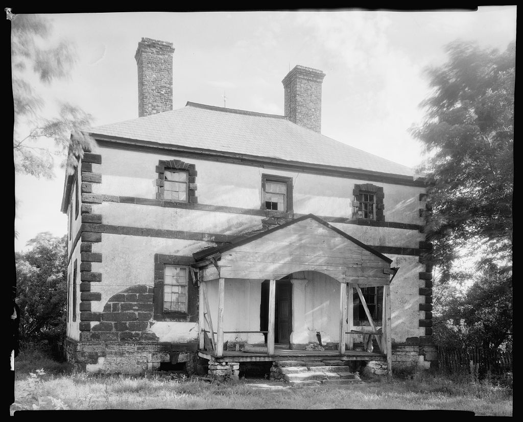Menokin, Richmond County, Virginia 1930s