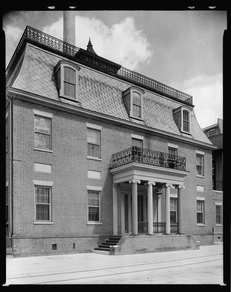 Mott House, Columbus, Muscogee County, Georgia 1939