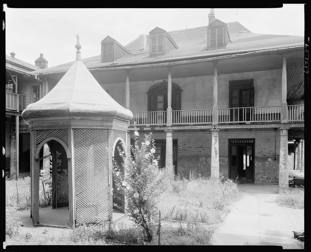 Olivier Plantation, 4111 Chartres St., New Orleans, Orleans Parish, Louisiana 1938