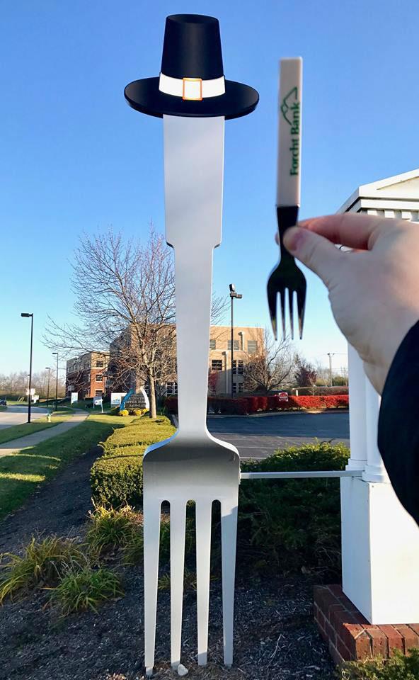 Thanksgiving fork