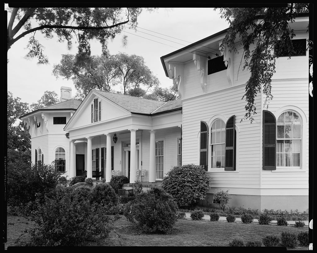 The Elms, 1846 Buena Vista Rd., Columbus, Muscogee County, Georgia 1939