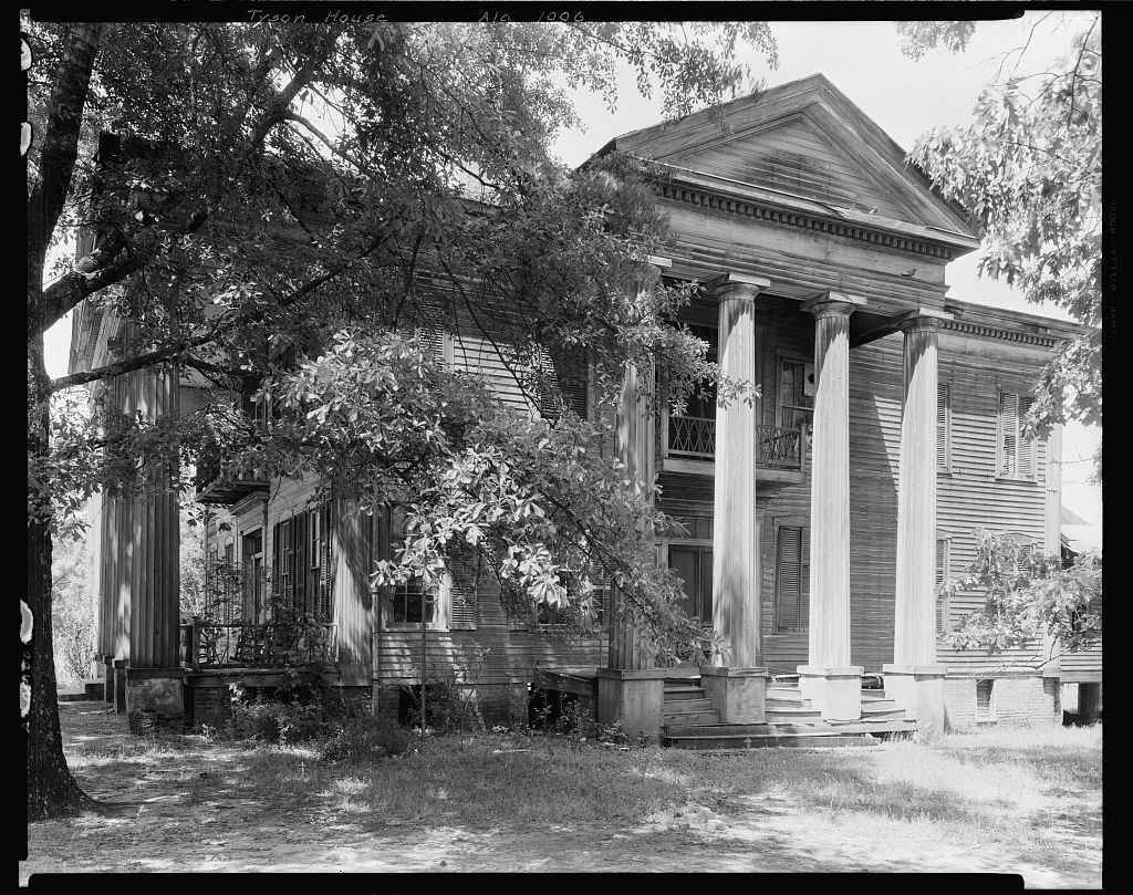Tyson House, Lowndesboro, Lowndes County, Alabama 1938