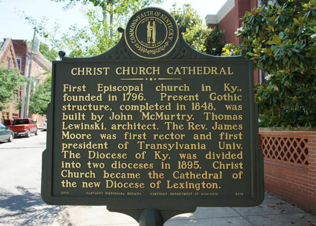 christ church marker