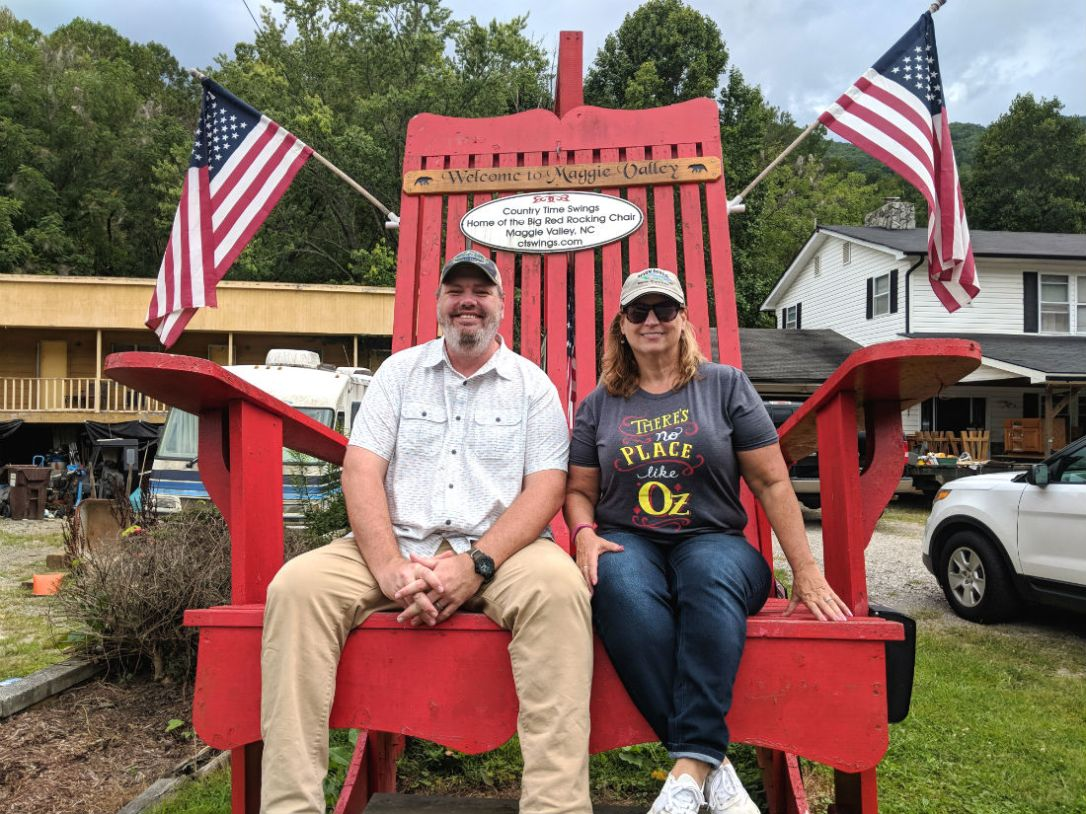 maggie valley big red rocker