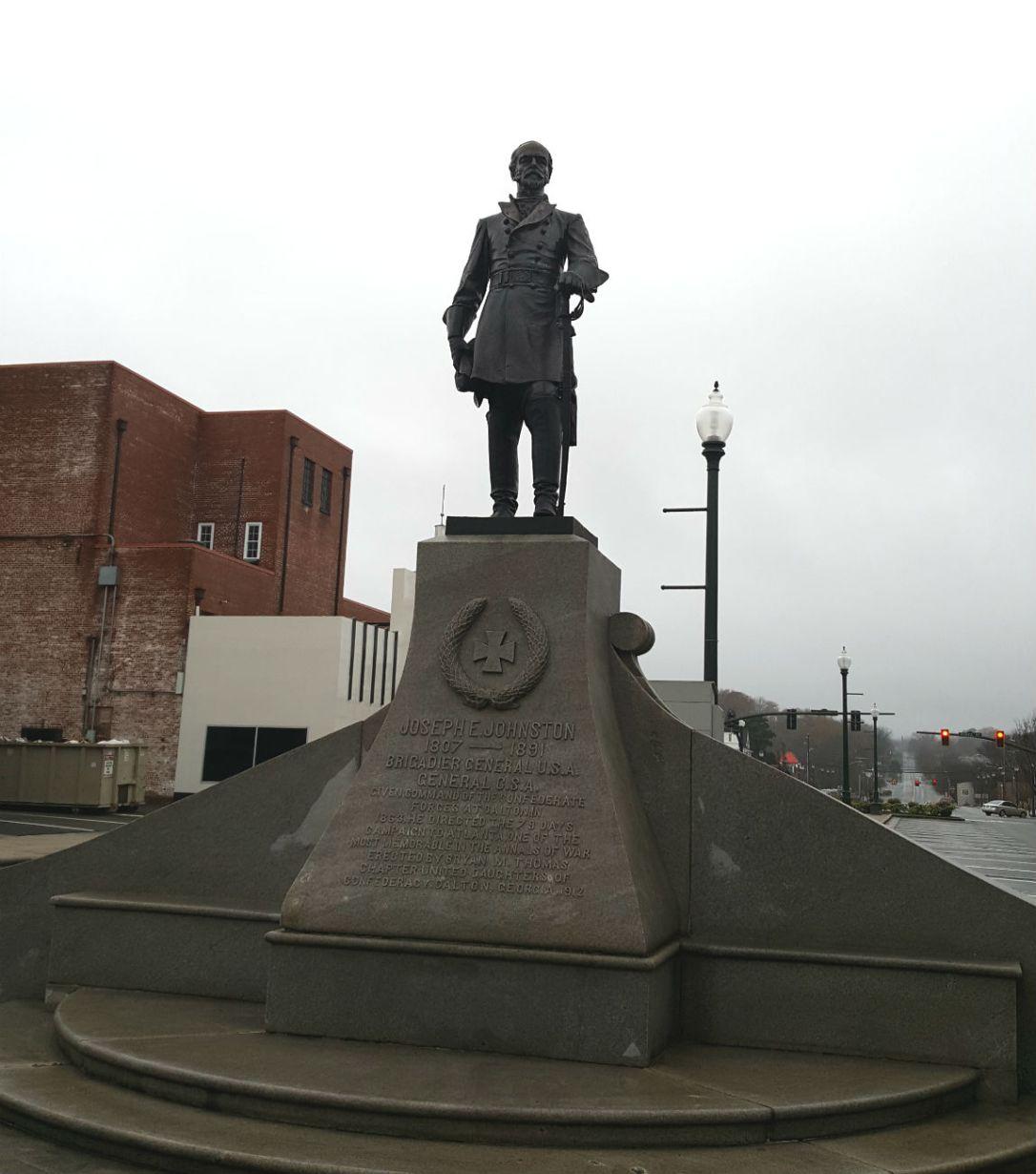 dalton statue
