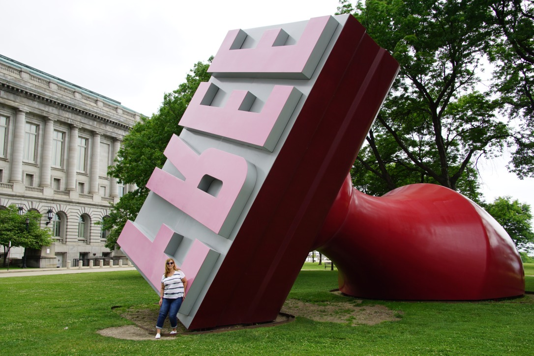 World's Largest Rubber Stamp Cleveland Ohio